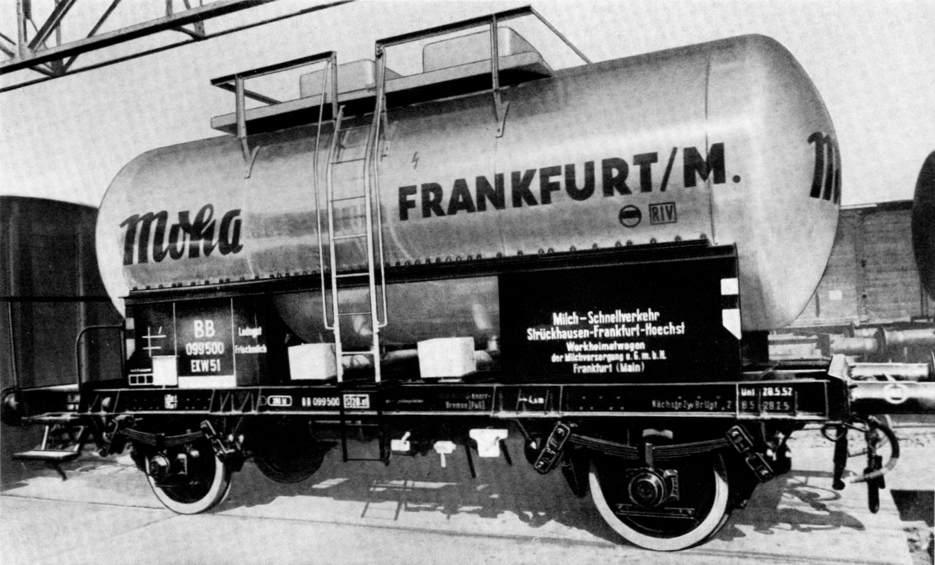 milchkesselwagen tkkmhs 53 der moha aw lingen modellbau. Black Bedroom Furniture Sets. Home Design Ideas