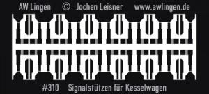 #310 Signalstützen für Kesselwagen