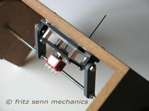 Mechanischer Antrieb, angelenkt mit Schubstangen