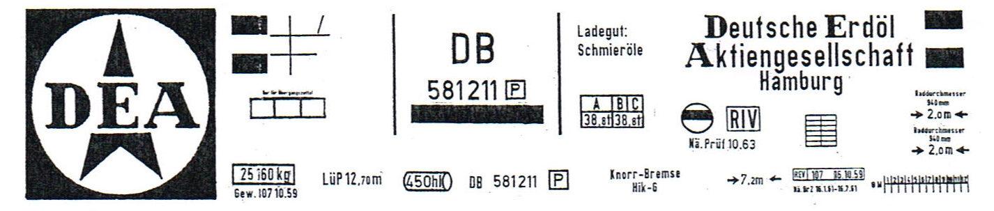 20151021 Gaßner Kesselwagen Beschriftungen DEA